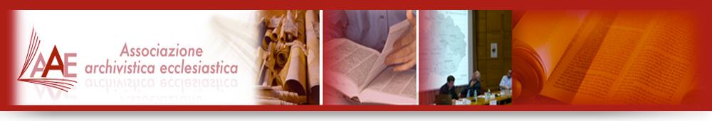 Associazione Archivistica ecclesiastica | C.F. 97047850587
